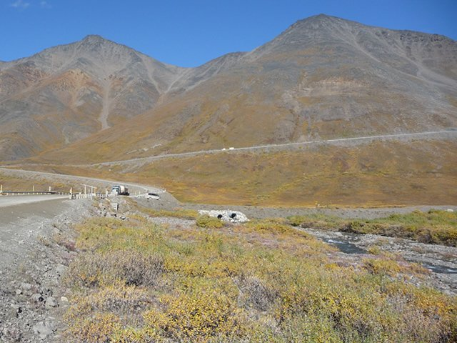 Atigun Pass on the Dalton Highway