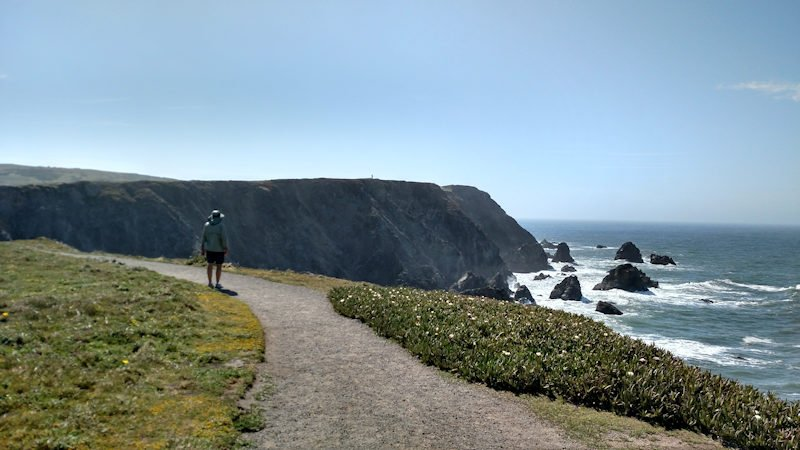 Bob at Bodega Head