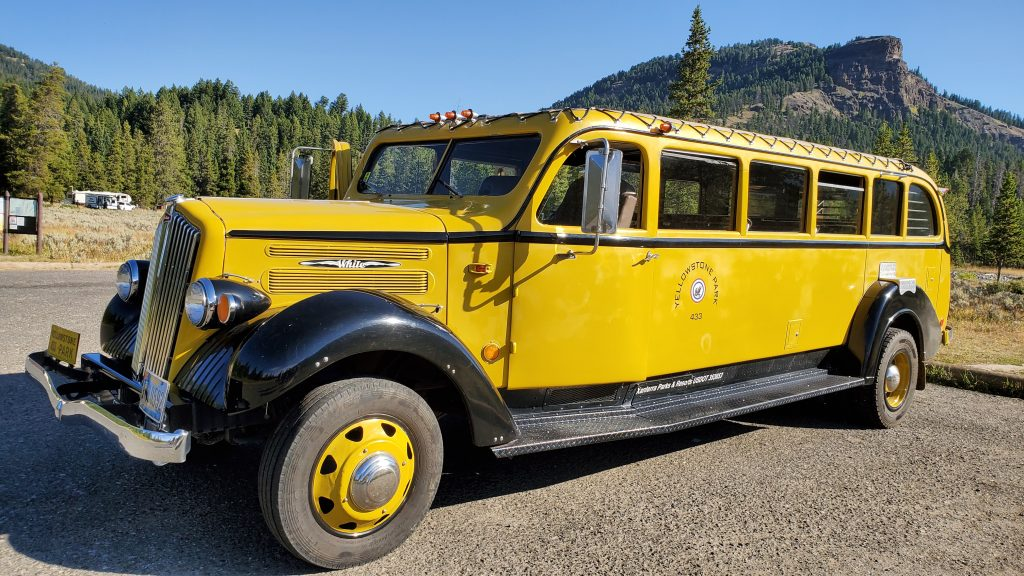 Yellowstone Yellow Bus